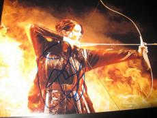JENNIFER LAWRENCE SIGNED AUTOGRAPH 8x10 PHOTO HUNGER GAMES CATCHING FIRE AUTO X1