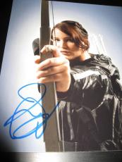 JENNIFER LAWRENCE SIGNED AUTOGRAPH 8x10 PHOTO HUNGER GAMES CATCHING FIRE AUTO X4