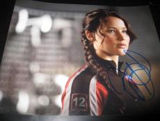 JENNIFER LAWRENCE SIGNED AUTOGRAPH 8x10 PHOTO HUNGER GAMES CATCHING FIRE AUTO X6