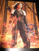 JENNIFER LAWRENCE SIGNED AUTOGRAPH 8x10 PHOTO HUNGER GAMES CATCHING FIRE AUTO X7