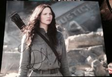 JENNIFER LAWRENCE SIGNED AUTOGRAPH CLASSIC FINAL HUNGER GAMES 11x14 PHOTO COA