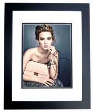 Jennifer Lawrence Signed - Autographed 11x14 inch Photo BLACK CUSTOM FRAME - Guaranteed to pass PSA or JSA - Hunger Games Actress