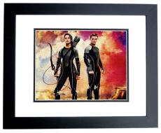Jennifer Lawrence Signed - Autographed Hunger Games 8x10 inch Photo BLACK CUSTOM FRAME - Guaranteed to pass PSA or JSA -  - Katniss Everdeen