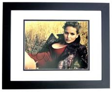 Jennifer Lawrence Signed - Autographed Sexy 11x14 inch Photo BLACK CUSTOM FRAME - Guaranteed to pass PSA or JSA - Hunger Games Actress