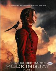 Jennifer Lawrence Signed Hunger Games Part 2 Autographed 11x14 Photo PSA/DNA #A
