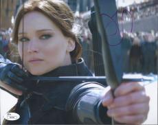 Jennifer Lawrence Signed 'the Hunger Games' 8x10 Photo Autograph Jsa Coa