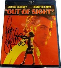 Jennifer Lopez Out of Site Autograph Blu-ray Signed on Plastic cover With COA