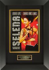 Jennifer Lopez Signed Selena 11x17 Poster Framed