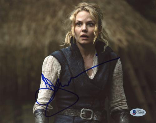 "Jennifer Morrison Autographed 8""x 10"" Once Upon a Time Photograph - BAS COA"