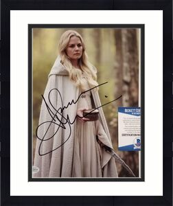 JENNIFER MORRISON Signed 8x10 Photo #5 Once Upon a Time Actress~ Beckett BAS COA