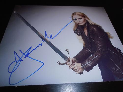 JENNIFER MORRISON SIGNED AUTOGRAPH 8x10 PHOTO ONCE UPON A TIME PROMO IN PERSON