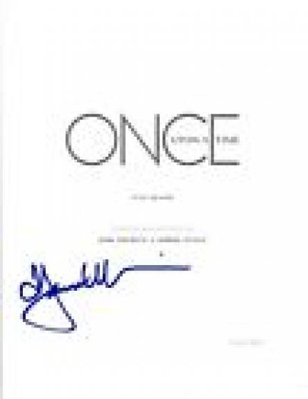 Jennifer Morrison Signed Autographed ONCE UPON A TIME Pilot Script COA VD