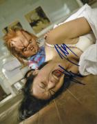 Jennifer Tilly Autographed Signed Bride Of Chucky 8x10 Photo AFTAL
