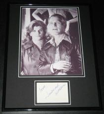 Warren Autographed Picture - Jennifer Framed 11x14 Poster Display Slap Shot w P Newman