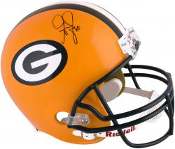 Greg Jennings Green Bay Packers Autographed Riddell Replica Helmet