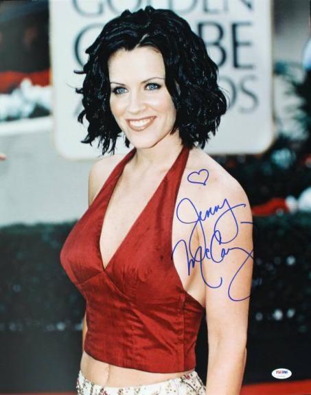 Jenny Mccarthy Sexy Signed 16X20 Photo Autographed PSA/DNA #U70539