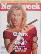 Jenny McCarthy Signed NL 1997 NEWSWEEK Magazine JSA