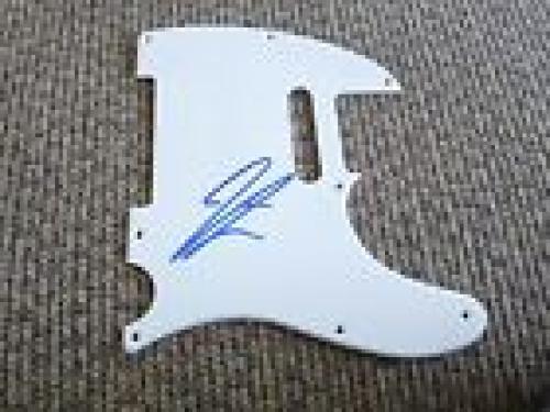 Jered Followill Kings Of Leon Autographed Signed Guitar Pickguard PSA Guaranteed