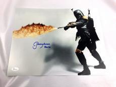 Jeremy Bulloch Autograph Boba Fett 11x14 Photo JSA Star Wars Empire Strikes 2
