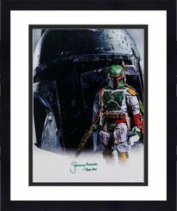 Jeremy Bulloch Autographed Boba Fett Double Image White 11x14 Photo- JSA W Auth