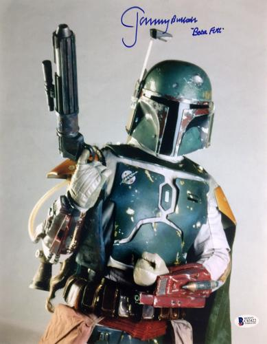 Jeremy Bulloch Autographed 'Star Wars' 8x10 Photo Inscribed Boba Fett