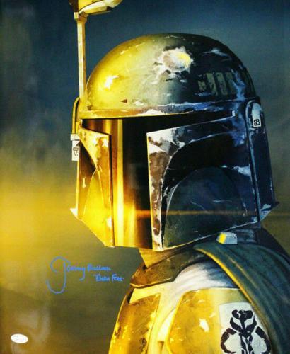 Jeremy Bulloch Autographed/signed Boba Fett Star Wars 16x20 Photo 21175 Jsa