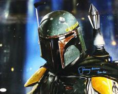Jeremy Bulloch Autographed/signed Boba Fett Star Wars 16x20 Photo 21176 Jsa