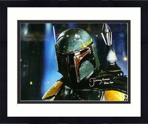 Jeremy Bulloch Autographed/signed Boba Fett Star Wars 16x20 Photo 21177 Jsa