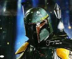 Jeremy Bulloch Autographed/signed Boba Fett Star Wars 16x20 Photo 21177 Jsa