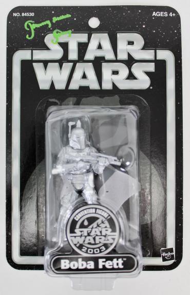 "Jeremy Bulloch ""Boba Fett"" Signed 2003 Star Wars Boba Fett Figure BAS #K09819"