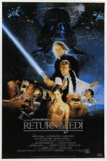 "Jeremy Bulloch ""Boba Fett"" Signed Star Wars Return Of The Jedi 24x36 Movie Poster - Alternate"