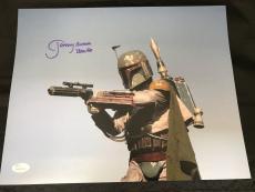 Jeremy Bulloch signed 11x14 autographed photo JSA Witness WP517591 Star Wars