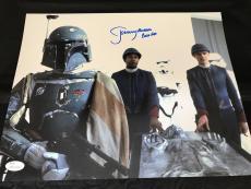 Jeremy Bulloch signed 11x14 autographed photo JSA Witness WP517594 Star Wars