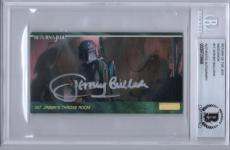 Jeremy Bulloch Signed #17 Boba Fett Star Wars Return Of The Jedi Beckett Bas