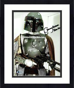 Jeremy Bulloch Signed 8x10 Star Wars Official Pix & BECKETT COA Autographed D8