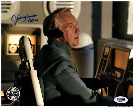 "JEREMY BULLOCH Signed Auto ""Cpt. Colton"" 8x10 Official Pix Photo PSA/DNA AD91257"