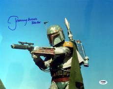 JEREMY BULLOCH SIGNED AUTOGRAPHED 11x14 PHOTO BOBA FETT STAR WARS PSA/DNA