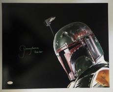 Jeremy Bulloch Signed Autographed Boba Fett 16x20 Photo Star Wars JSA COA 5