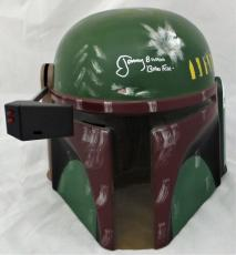 Jeremy Bulloch Signed Autographed Boba Fett Collecters Helmet JSA Authentic