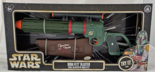 Jeremy Bulloch Signed Autographed Boba Fett Fusil Blaster JSA Authentic