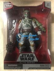 Jeremy Bulloch Signed Disney Star Wars Elite Series Boba Fett Figure Jsa Coa 2