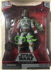 Jeremy Bulloch Signed Disney Star Wars Elite Series Boba Fett Figure Jsa Coa 3