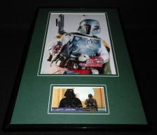 Jeremy Bulloch Signed Framed 11x17 Photo Set Star Wars Boba Fett