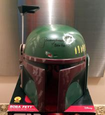 Jeremy Bulloch Signed Full Size Boba Fett Helmet Star Wars Very Rare Beckett Bas
