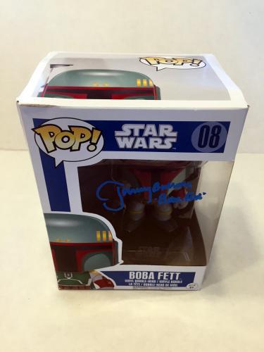 Jeremy Bulloch Signed Funko Pop! Figure Boba Fett *damaged* Star Wars Psa/dna