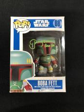 Jeremy Bulloch Signed & Inscribed Boba Fett Funko Pop Figure Star Wars