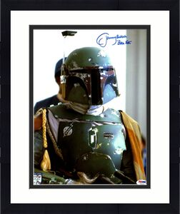 "JEREMY BULLOCH Signed STAR WARS ""Boba Fett"" 11x14 Official Pix Photo PSA/DNA"