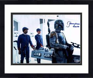 "JEREMY BULLOCH Signed STAR WARS ""Boba Fett"" 11x14 Photo BECKETT BAS #C83428"