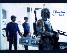 "JEREMY BULLOCH Signed STAR WARS ""Boba Fett"" 11x14 Photo BECKETT BAS #C83428"