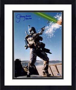 "JEREMY BULLOCH Signed STAR WARS ""Boba Fett"" 11x14 Photo BECKETT BAS #C83441"